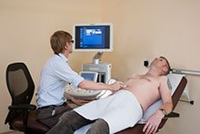 Ultrasound investigations for physiotherapy patients