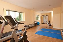 Our fully equipped physiotherapy gym.